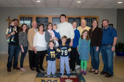 Marist School Photo Galleries: Blue & Gold Circle Induction 11-4-16 &emdash;