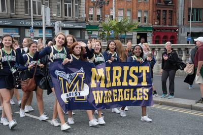 Marist School Photo Galleries: Ireland - Pep Rally &emdash;